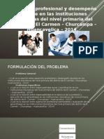 Presentación Desarrollo Profesional