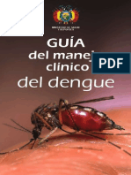Guia del Manejo Clinico del Dengue
