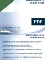 Indian Ports Developmnt 01.11.2014