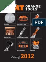 CMT Orange Tools English Catalogue 2012