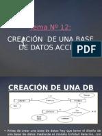 Tema 12 Creación de Una Base de Datos Access