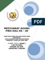 Buku Program Pibg 2014