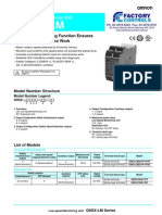 G9SX-LM Low Speed Monitoring Unit Datasheet