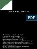 Lydia Henderson