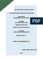 Reporte de Practica de Medicion
