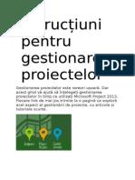 Instrucțiuni pentru gestionarea proiectelor.doc