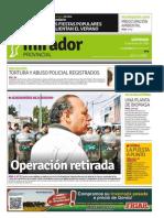 Edición impresa del domingo 11 de enero de 2015