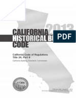 California Title 24, Part 8 Historical Building Code 36pp 6x9trade