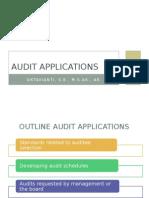 Audit application