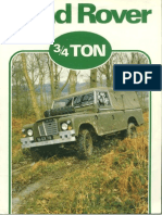 Land Rover SIII Military