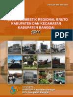 Pdrb Kabupaten Banggai 2011