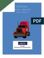 StudentWorkbook Escort Driver Oversized Load GDOT