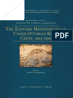 The Eastern Meditteranean Under Ottoman Rule - Crete