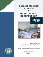 Guia de Manejo Clinico y Hospitalario de Influenza
