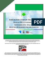 FCT 2013 Report