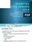 WHS PR Symposium - Diabetes melitus update 2014