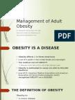 WHS PR Symposium - Management of Adult Obesity