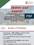 WHS PR Symposium - Diabetes and Cancer