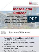 WHS PR Symposium - Diabetes and Cancer