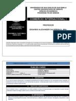 Guia Programatica Comercio Internacional i 2015