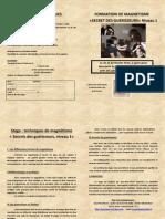 Formation Magnétisme 1 St Pierre La Palud Février 2015