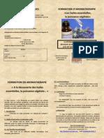 Formation Aromathérapie 1 St Pierre La Palud Février 2015
