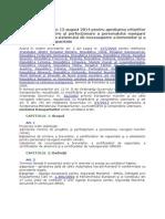 Ordin Nr 1252 Din 13 August 2014