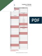 REVISED Academic Calendar_Term I_For Parents_1314