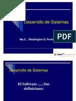 Desarrollo de Sistemas