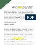 Contrato de Prestação de Serviços - Projeto Tatiana x Leonardo