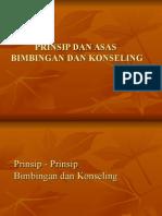 Prinsip Prinsip Dan Asas Asas Bimbingan Dan Konseling1
