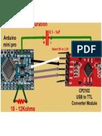 Conexion Del USB-TTL Al ATMega328p-PU
