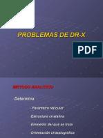 Problemas de DR-X