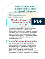 Cement Co.issue