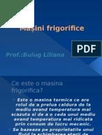 Masini Frigorifice