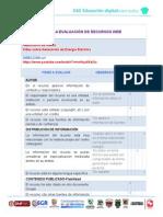 Tabla Evaluación de Recursos Web. JCReyes