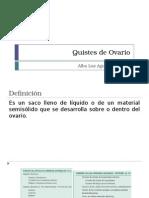 Quistes de Ovario