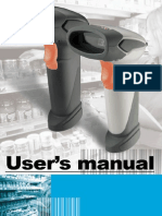 User's Manual_Gun Type Handheld CCD.laser Scanner