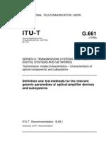 ITU-T G.661