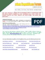 August 2009 - North Suburban Republican Forum Newsletter