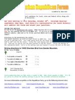 October 2009 - North Suburban Republican Forum Newsletter