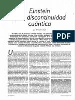 DARRIGOL, Olivier - Einstein y La Discontinuidad Cuántica (Mundo Científico, 103)
