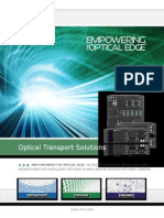 Optical Transport Solutions Brochure