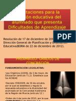 Power Point Dific.aprendizaje