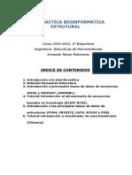 Gui¦üa Pra¦üctica de Bioinforma¦ütica Estructural