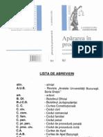 Apărarea în procesul civil.Garanţii procesuale - Gh.Florea - 2006.pdf