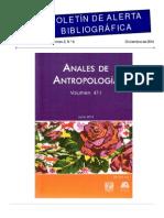 Boletín de Alerta Bibliográfica V. 2, No. 6 (dic, 2014)