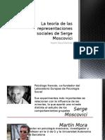 La Teoría de Las Representaciones Sociales de Moscovici