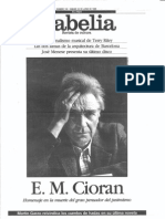 E.M. Cioran (Babelia 192, EP 24-06-1995)