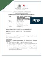 Programa de Becas de Investigacion 2015